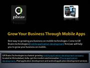 Grow Your Business Through Mobile Apps