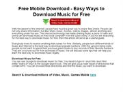 Free Mobile Download - Easy Ways to Download