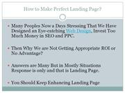 How to do Landing Page Optimization