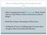 Why to Use Bing Adcenter