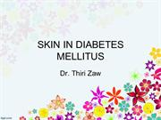 Skin in Diabetes Mellitus