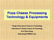 Pizza Cheese Technology