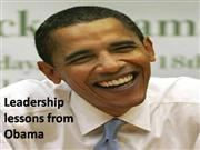 Tips to be successfull from Mr Obama