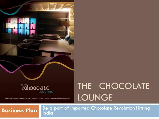 Chocolate Lounge  Bar Business Plan Authorstream