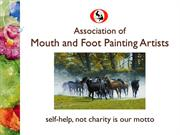 Mouth & Foot Painters of India