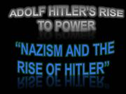 adolf Hitler's Rise to Power
