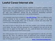 Lawful Career Internet site