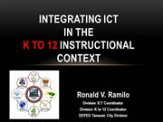 ICT in k to 12