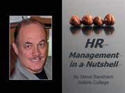 HR Management: Job Descriptions and Job Analysis
