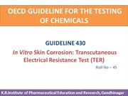OECD GUIDELINE FOR THE TESTING OF CHEMICALS (1)