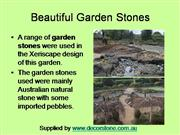 Beautiful Garden Stones