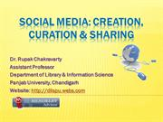 Social Media Curation and Sharing