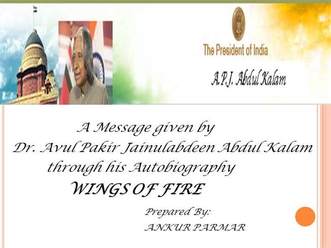 book review ppt on wings of fire