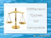 Different Types of Lawyer