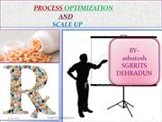 ppt of process optimization