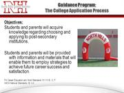 College Application Process - 2012-Official