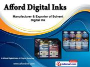 Industrial Printing Inks by Afford Digital Inks, Surat