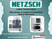 TGA by Netzsch Technologies India Private Limited, Chennai