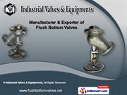 Flush Bottom Valves by Industrial Valves & Equipments, Thane