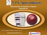 Sports Accessories by A. P. G. Sports Industries, Jalandhar