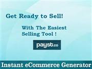 Get Ready to Sell  With The Easiest Selling Tool