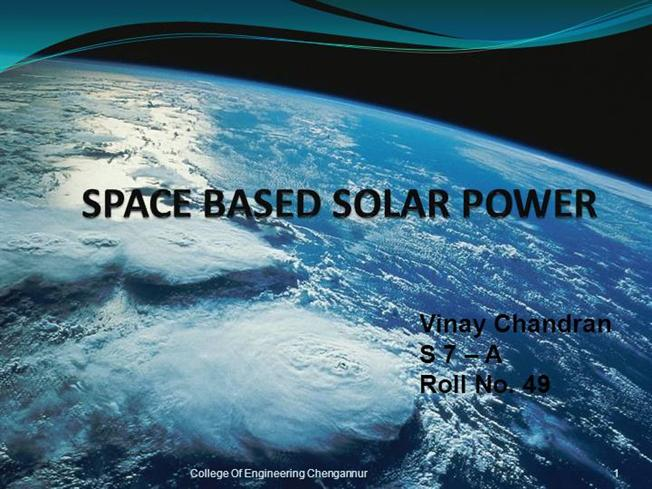 Solar Energy Power College Dissertation Term Paper