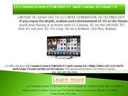 LG Cinema Screen 47LM7600 47-Inch Cinema 3D 1080p 240Hz LED-LCD HDTV