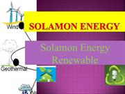 Solamon Energy