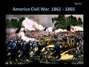 American Civil War Part 1