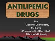 ANTILIPEMIC AGENTS