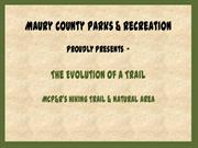 Hiking Trail Presentation