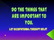 Occupational Therapy Commercial