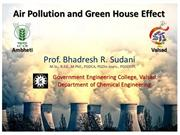 Air Pollution and Green House
