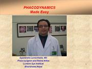 PHACODYNAMICS   made easy