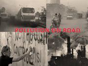 pollution on the road