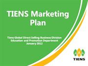 TIENS Marketing Plan without calculation part