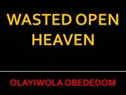 wasted open heaven