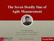 The 7 deadly sins of agile measurement