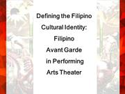 avant garde designs in the performing arts theater