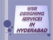 Web Designing Company in Hyderabad