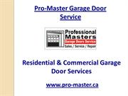 Toronto Garage Doors, Garage Door Installation , Doors Markham