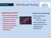 CapCal Gas Pedal and AppDynamics video demo