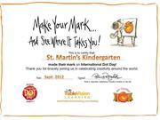 StM Kindergarten - International Dot Day 2012