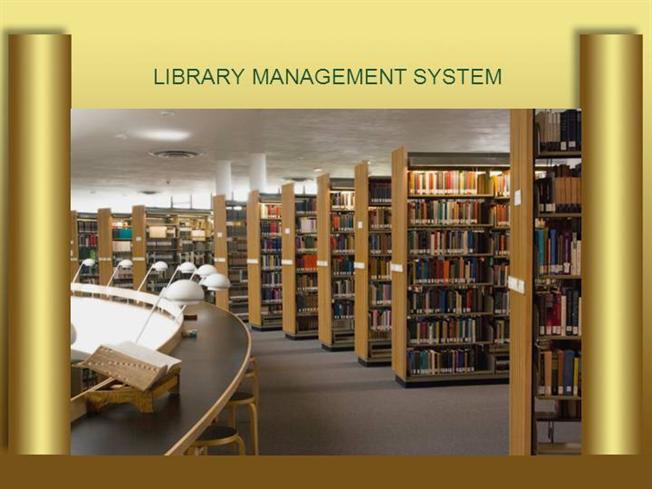 Library management system abstract authorstream library management system ccuart Choice Image