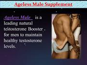 ageless male Male improvement Facts