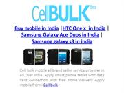 cellbulk mobile latest handsets offers