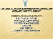 watershed development ppt