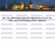 IFC to Provide US$ 100 Million Loan to the OCI Construction Group