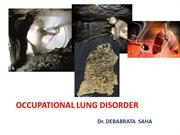 OCCUPATIONAL LUNG DISORDER