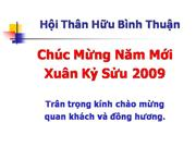 Binh Thuan TET 2009 Slide Shows